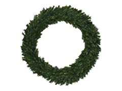"Santa's Workshop 60"" Multi Pine Wreath"