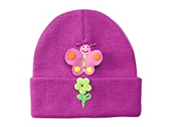 Butterfly Knit Hat