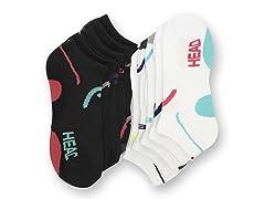 HEAD Women's Socks, 10 Pairs (Multiple Colors)