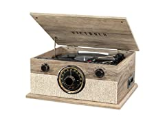 Victrola 6-in-1 Bluetooth Record Player w/ 3-Speeds
