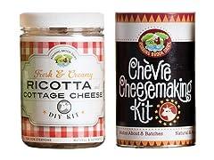 Roaring Brook Chèvre & Ricotta Kits (2)