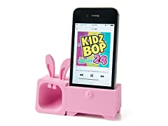 O!music Zoo+ Stand & Amplifier for iPhone 4/4S