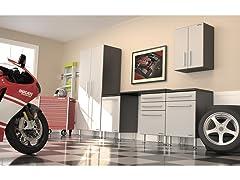 Ulti-MATE Garage PRO 6-Piece Storage Kit