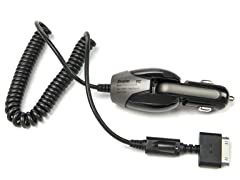 30-pin Swivel Car Charger with Illuminated Tip