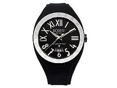 Men's BOX 40 BLACK Black Dial Watch