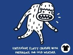 Unpleasant Cold-weather Creature