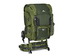 High Sierra Bobcat 65 Frame Pack, Pine