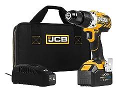 JCB 20V Cordless Drill Driver w/ 5.0Ah Battery