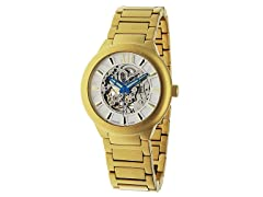 Women's Radius Skeleton Automatic, Gold