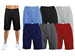 3-Pack Men's Performance Mesh Shorts