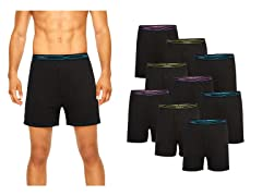Hanes Men's X-Temp Knit Boxers 9-Pack