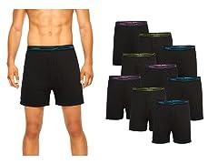 Hanes Men's X-Temp Knit Boxers 9-Pack