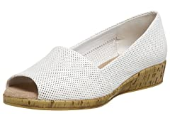 Aerosoles Sprig Break Wedge,White Leather