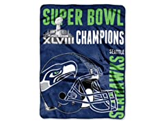 2014 Super Bowl Champs Seahawks Throw