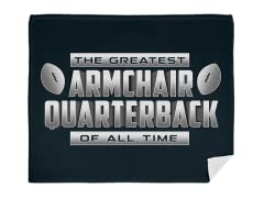 """Armchair Quarterback"" Blanket"