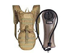 Uningear Tactical Hydration Backpack 15L