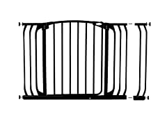 Hallway Gate w/ Extension - Black
