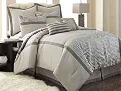 8-Pc Mercer Comforter Sets-Your Choice