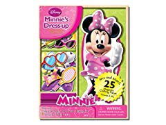 Disney Mini Mouse 25 Piece Wood Magnetic Play Doll