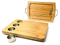 Core Bamboo Cutting Board w/ Prep Bowls