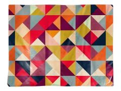 """Bright Geometry"" Placemat"