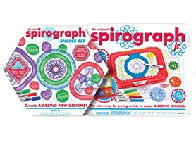 Spirograph Junior & Shapes Set Bundle
