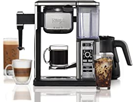 Ninja Coffee Bar Glass Carafe System with Auto-iQ