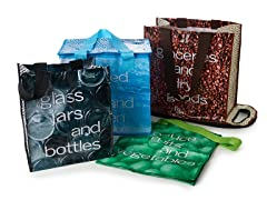 My Eco 4 Bags-In-One Tote Shopping System