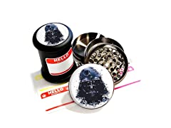 Herb/Spice Grinder & Jar Set, Darth Vader