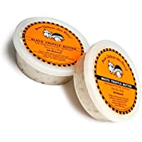 2-Pack Marche aux Delices Black and White Truffle Butter