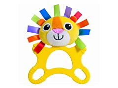 Logan the Lion Teethimal Teether Toy