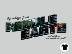 Greetings from Middle Earth