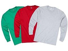 Zorrel 3-Pack Long Sleeve Shirt