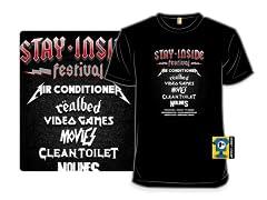 """""""Stay-Inside Festival"""" T-Shirt"""