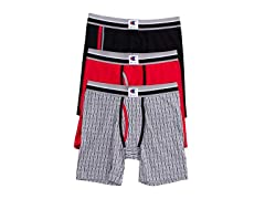 Champion Men's 3-Pk Stretch Boxer Briefs