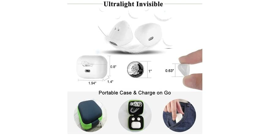 a75cb572a51 AirTaps Bluetooth Ear Buds With Charging Case