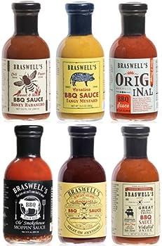 Braswells BBQ Sauce 6-Pack Sampler