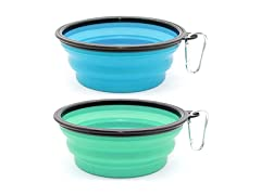 Extra Large Collapsible Silicone Dog Bowls