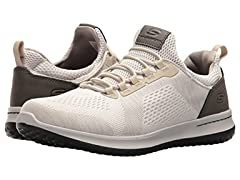 Skechers Men's Relaxed Fit-Delson-Brewton Sneaker