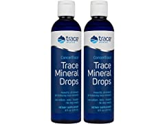 Trace Mineral Drops, 2 Pack