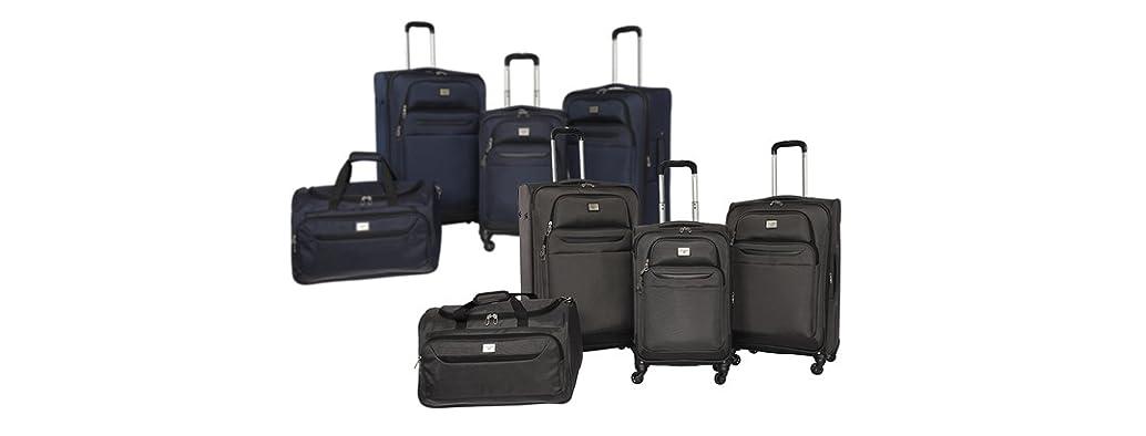 4-Piece Dockers Softside Luggage Set (Your Choice)