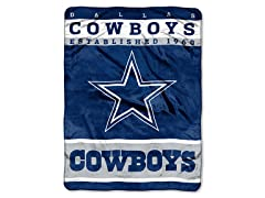 Dallas Cowboys 60x80 Raschel Throw