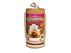 12 Variety Flowering Teas with Gift Canister