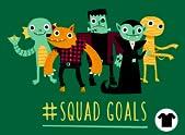 Monster Squad Goals