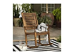 Montego Traditional Patio Rocking Chair