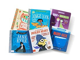 BabyLit 6 Board Book Bundle