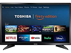 Toshiba 32-inch 720p HD Smart LED TV