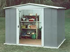 6' x 7' Steel Storage Shed