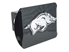 Elektroplate Razorbacks Metal Trailer Hitch Cover