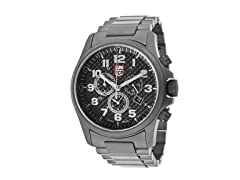 Men's Chronograph Carbon Fiber & SS